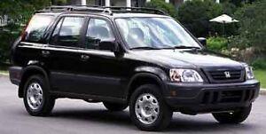 Honda CR-V 1997 ( Roue de Secour Mag Noir ) Bumber Noir,Bavette