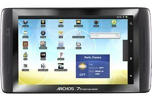 Archos Internet Tablet 70 250GB, Wi-Fi, 7in - Black