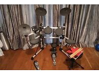 SESSION PRO DD405D ELECTRONIC DRUM KIT POPULAR WITH GREAT REVIEWS FOR BEGINNER/INTERMEDIATE PLAYER