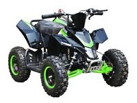 NEW SX 49CC RACING STYLE ELECTRIC START QUAD BIKES FREE UK DELIVERY