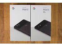 GOOGLE PIXEL 2 XL 128GB BLACK BRAND NEW CONDITION COMES WITH GOOGLE WARRANTY & RECEIPT