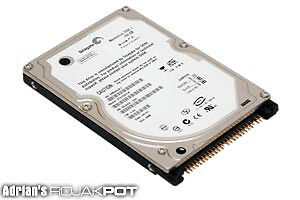 100GB IDE Laptop Hard drive