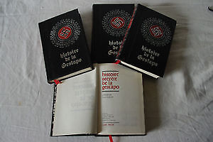 - Histoire secrète de la gestapo en 4 tomes d'environ 250 pages