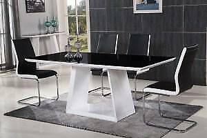 MODERN DINING ROOM TABLE ONLY (CR2418)