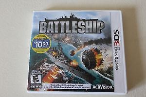 """"""" BATTLESHIP """" NINTENDO 3DS  *** new price ! **"""