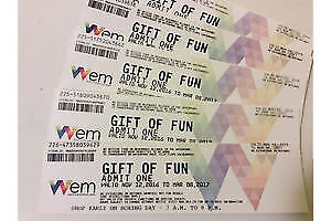 WEM Water Park or Galaxy Land Tickets