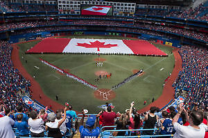 4 Tickets Blue Jays vs Red Sox Canada Day 2017