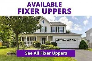 FIXER UPPER PROPERTIES - THESE HOMES NEED WORK