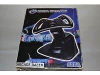Sega Saturn Arcade Wheel Still Boxed