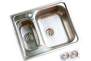 Blanco Viva 6 - Stainless Steel Double Sink