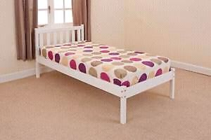 Sweet little white chklds twin bed antique dreser
