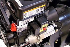 Electric starter kit for snow blower