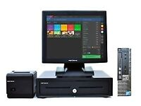 """EPOS 17"""" Touch screen till system, cash draw and printer"""