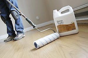 Sablage de plancher Sans poussières