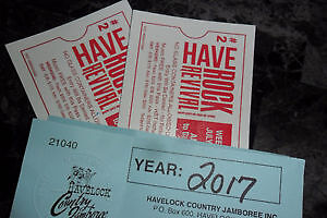 HaveRock Revival July 7 and 8 th 2 passes with Camping
