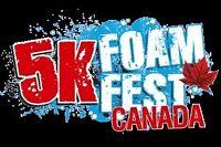 Billet course Foam Fest de Vallée-du-Parc