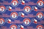 Texas Rangers Fabric