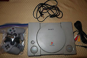 Playstation PS1 Console + Controller & Memory Card