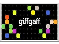FREE 3 x GIFFGAFF SIM CARDS - INCLUDES STANDARD, MICRO & NANO SIM CARDS READY TO COLLECT