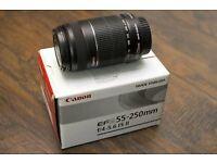 Canon EFS 55-250mm IS II Lens