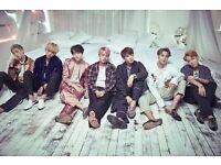 Tickets for BTS London