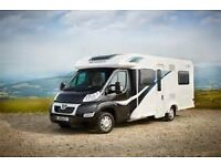 Motorhome Hire Bailey 745 autograph 4 berth fully winterised with central heating