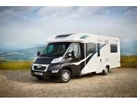 HIRE / RENT / Motorhome Hire Bailey 745 autograph 4 berth fully winterised with central heating