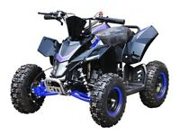 NEW KIDS 49CC ELECTRIC START SX RACING STYLE QUADS