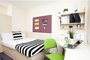 Student accommodation (Coventry). A single room with en-suite, Raglan House.