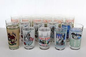 Kentucky Derby Glasses Horse Racing Ebay