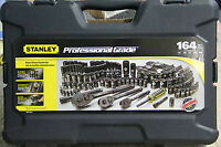 164 piece Stanley Black Chrome Socket Set $200 OBO *USED LIGHTLY