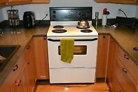 whirlpool electric stove free