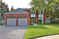 Pickering Spacious 4+1 Home With Many Upgrades For Sale!!