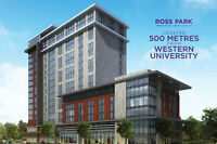 Ross Park  student condos at Western University! 3 year leasebac