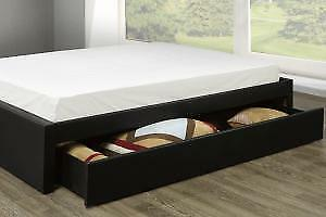 Queen Platform Bed with storage (TI23)