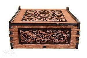 Decorative Wooden Bo