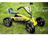 Berg Buzzy Yellow Pedal Go Kart