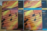 Harmonic Materials in Tonal Music, Vols. 1 and 2, with CDs