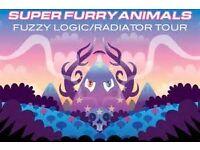 2 x SUPER FURRY ANIMALS TICKETS - LLANDUDNO VENUE CYMRU WALES