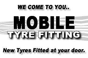 """Fast Fit Mobile Tyres-13""""&14"""" We Come To U FREE"""