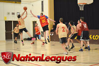 Men's 4v4 Basketball League - Refereed and Downtown Locations