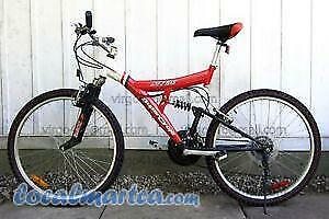 Wanted 21 speed dual suspension bike