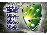 ICC Cricket Trophy Tickets- England vs Australia x 6 tickets