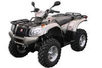 VTT 500cc 4x4 tout equipe