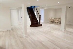 Laminate floor install $1.20 Hardwood $1.50 289-981-9365