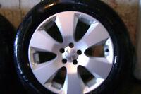 Cherche 4 Mags Subaru Outback 2012