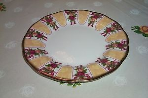 "Royal Albert Old Country Rose Gold Damask 8"" Plate"