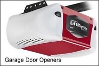Garage door opener installation and repair