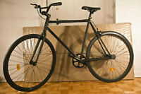 Brand New Fixed Gear Bike All Black (MATTE) -FIXIE
