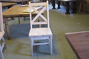 Mennonite Made X Back Chairs